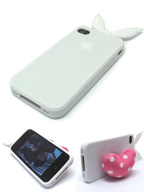 Bunny Ears Soft Case with Heart Pillow - The House of Awareness