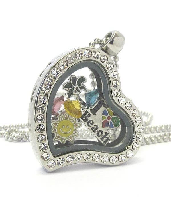 Heart Charm Locket for Summer - The House of Awareness
