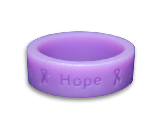 Lavender Ring with Words Faith, Hope, Love , Women - Jewelry - Rings - The House of Awareness, The House of Awareness