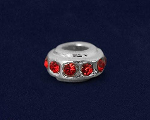 Red Crystal Awareness Charm for Causes - The House of Awareness
