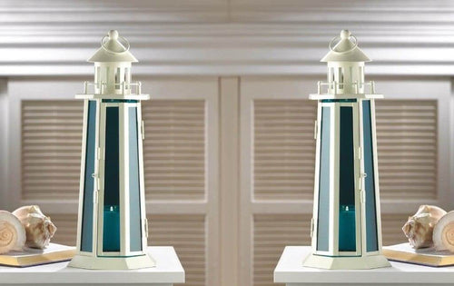 2 Blue Harbor Pointe Lamps - The House of Awareness
