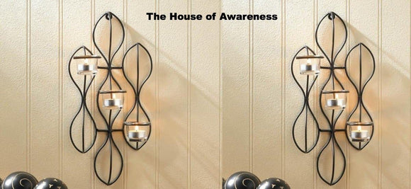 2 Propel Candle Wall Sconces - The House of Awareness