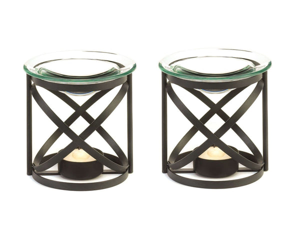 Set of 2 Orbital Oil Warmers