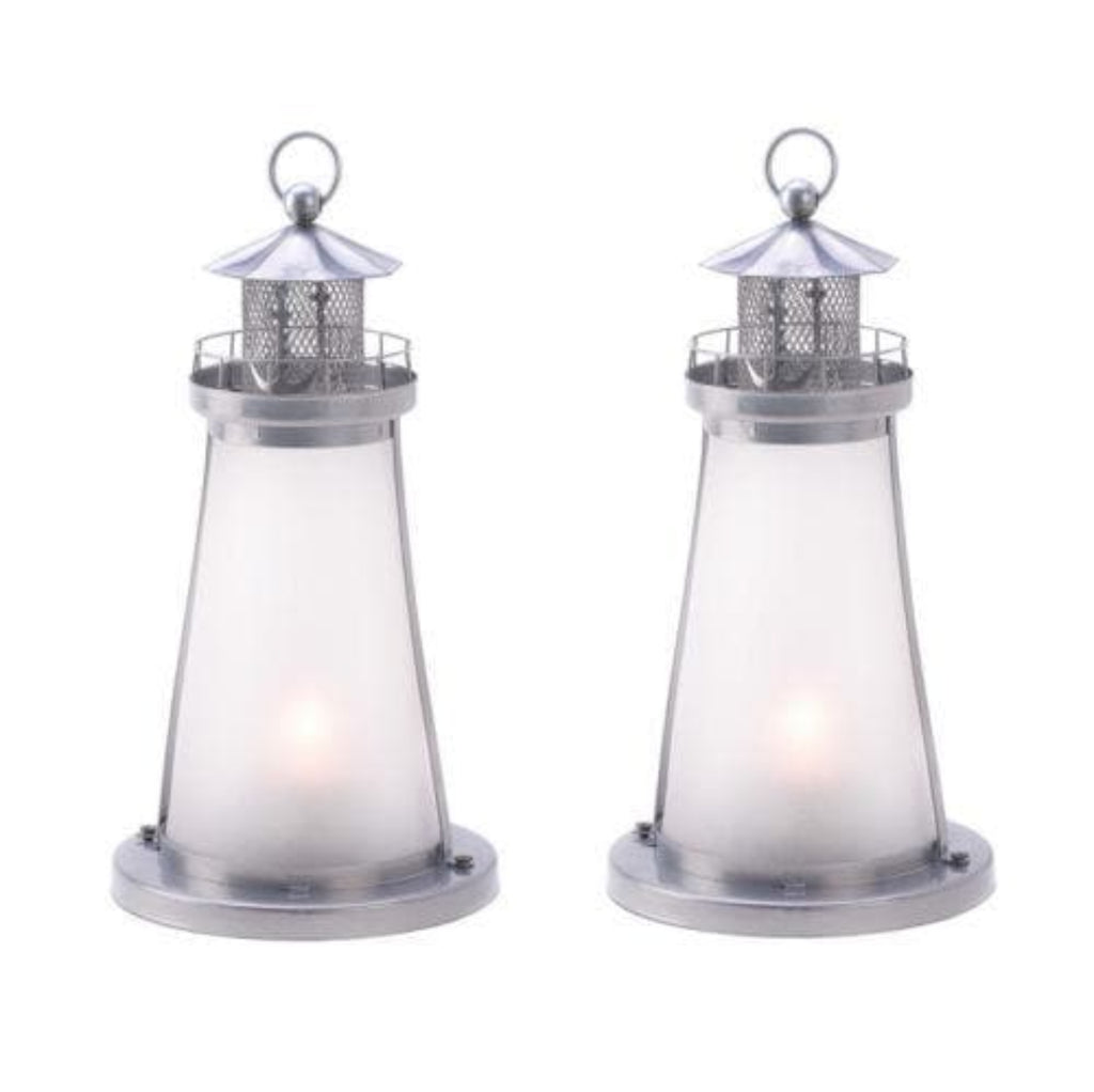 Set of Lighthouse Candle Lanterns - The House of Awareness