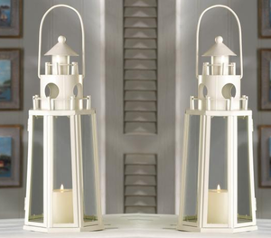 Set of 2 Nautical Candle Lanterns - The House of Awareness