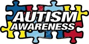 Autism Awareness Puzzle Piece Decal - The House of Awareness