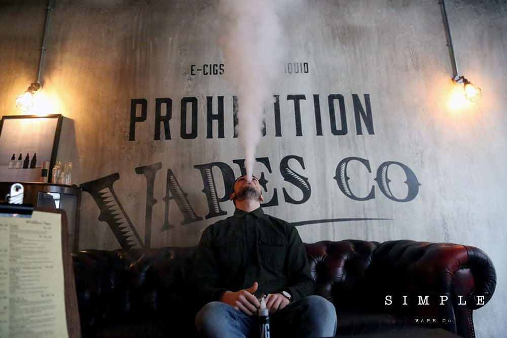 Billy in Prohibition Vape Cao