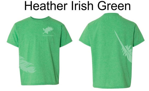 Feather & Logo T-Shirt Children's Short Sleeve
