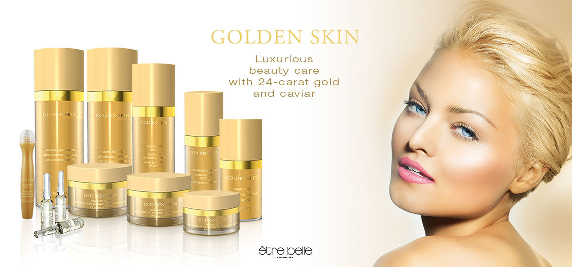 Golden Skin Care Product