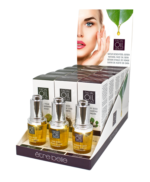 Facial oil Serum Display