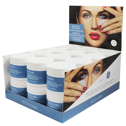 Display Make-up Remover Pads 24 boxes