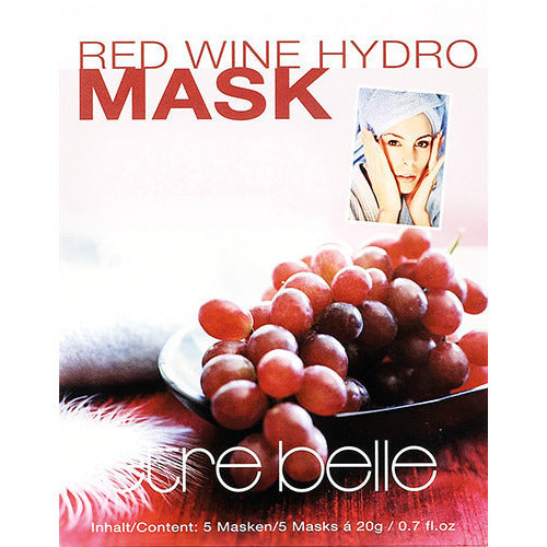 Red Wine Hydro Mask 5pcs REF: 3566