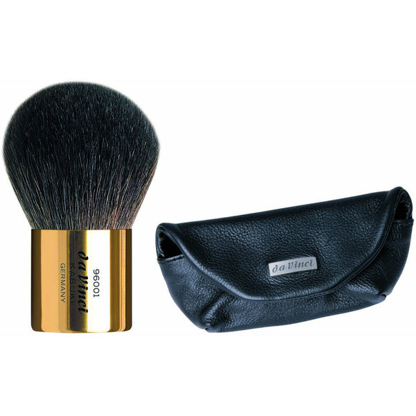 KABUKI POWDER BRUSH IN BLACK LEATHER SLEEVE KABUKI | 960010