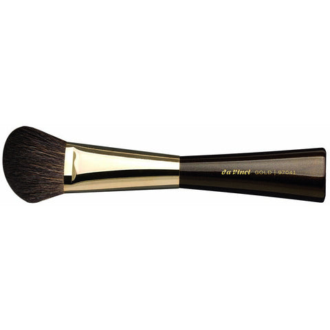 BLUSHER/ CONTOUR BRUSH ANGLED GOLD