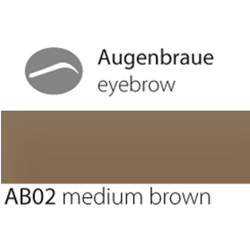 eyebrow AB02 medium brown