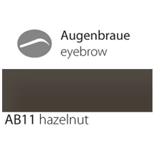 eyebrow AB11 hazelnut