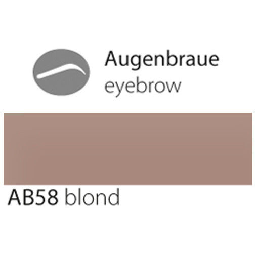 eyebrow AB58 blond