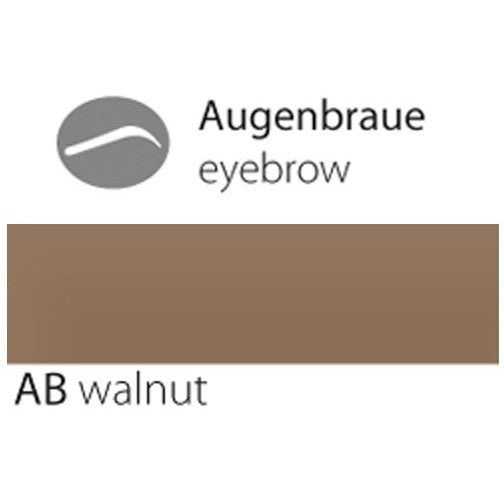 eyebrow AB walnut