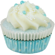 BathCupcake Blue Moon