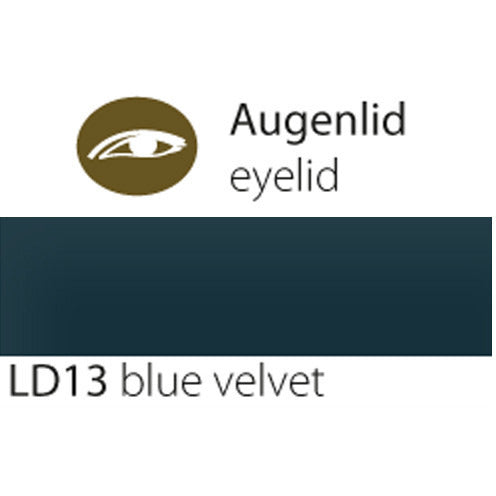 Eyelid LD blue velvet | Permanent Makeup