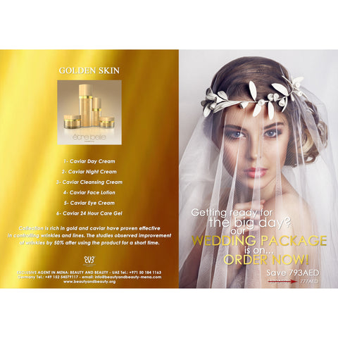Golden Skin - Wedding package