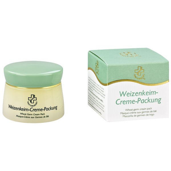 Wheat-germ cream pack