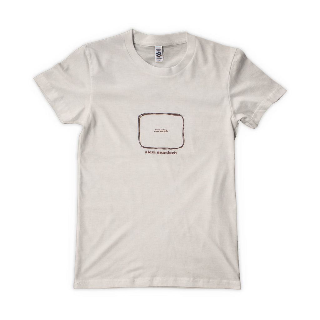 'Nothing Wrong With Space' Women's T-Shirt - Cream