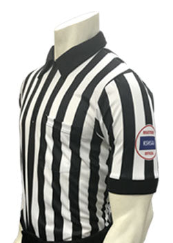 "USA100KS-607-WF ""BODY FLEX"" Football Men's Short Sleeve Shirt"