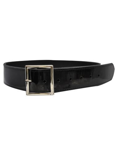 "ACS581 - Patent Leather 1 3/4"" Black Belt"