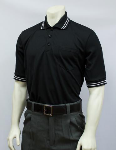 BBS300 BLK - Smitty Performance Mesh Umpire Short Sleeve Shirt