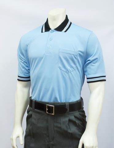 BBS300 PB/BLK - Smitty Perfomance Mesh Umpire Short Sleeve Shirt