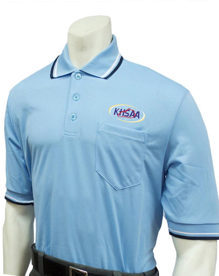 "USA300KY-PB - Smitty ""Made in USA"" - Baseball Men's Short Sleeve Shirt Powder Blue"