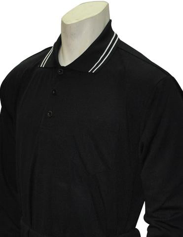 BBS301 BLK - Smitty Perfomance Mesh Umpire Long Sleeve Shirt