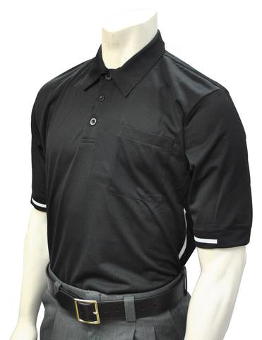 BBS310 BLK - Smitty Major League Style Umpire Shirt