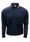 D255 - Dalco Baseball/Softball Pin Dot Mesh Umpire Shirt - Long Sleeve