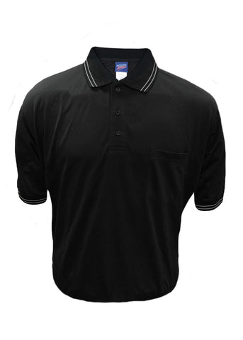 D260 - Dalco Baseball/Softball Umpire Shirt - Black