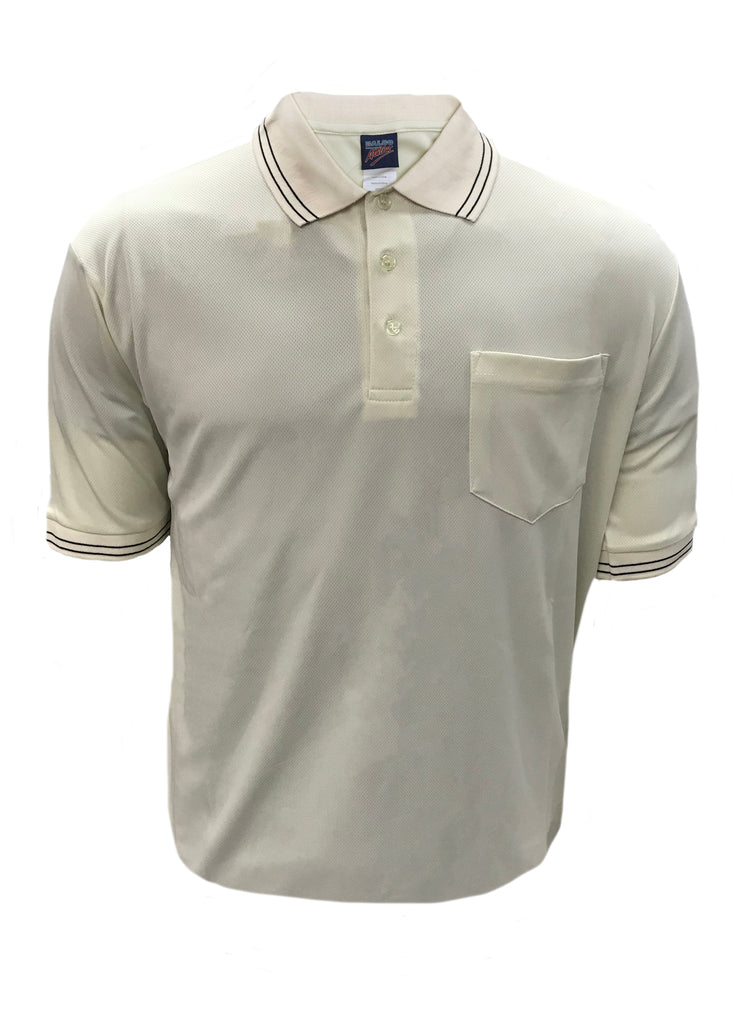 D260 - Dalco Baseball/Softball Umpire Shirt - Creme