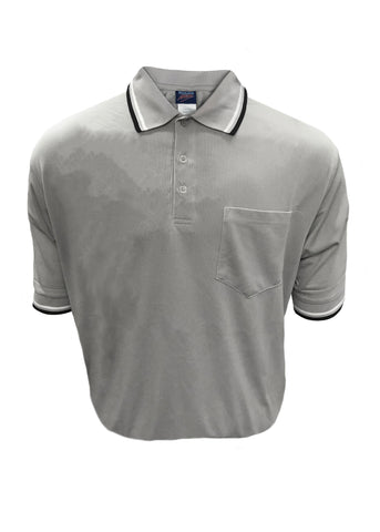 D260 - Dalco Baseball/Softball Umpire Shirt - Grey