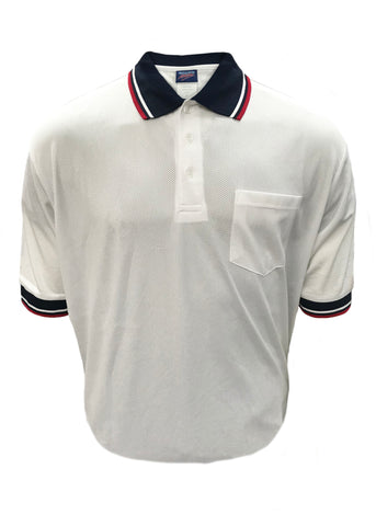 D260 - Dalco Baseball/Softball Umpire Shirt - White