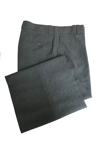 D9400 - Dalco Flat Front Plate Pants w/Top Pockets - Heather Grey