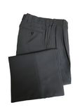 D9600 - Dalco Pleated Combo Pants w/Slash Pockets - Charcoal Grey