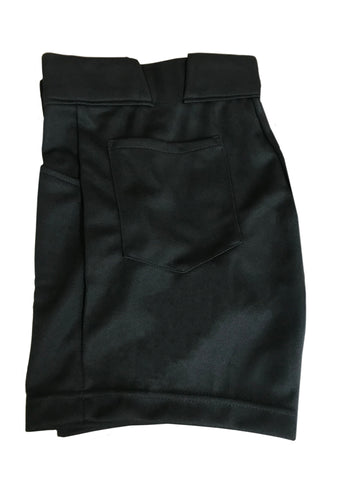 D9828 - Dalco Solid Black Shorts