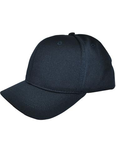 HT304 - Smitty - 4 Stitch Flex Fit Umpire Hat Navy