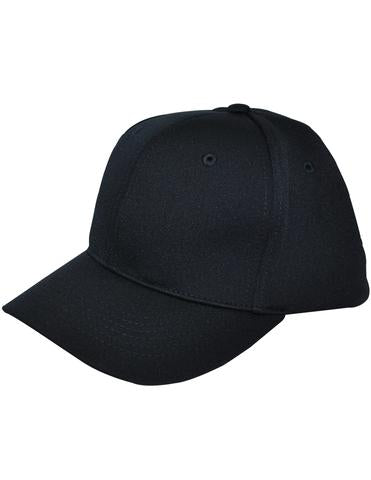 HT306 - Smitty - 6 Stitch Flex Fit Umpire Hat Navy