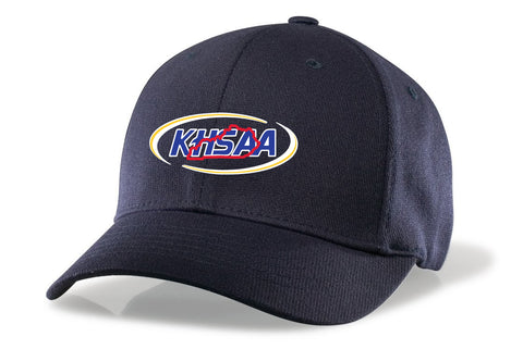 "KY-R540 - ""KHSAA"" Richardson Umpire Surge 2"" - 6 Stitch Fitted - Navy/Black"