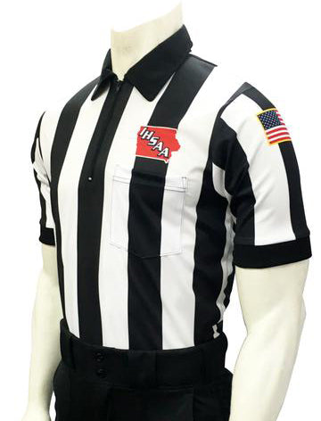 USA137 Iowa Short Sleeve Football Shirt 2.25 Stripe