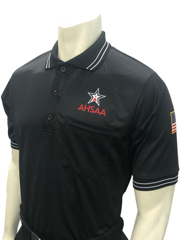 USA300 AL Ump Shirt New Logo Above Pocket Black
