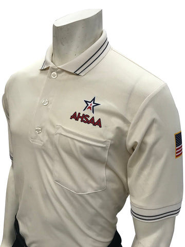 USA300 AL Ump Shirt New Logo Above Pocket Cream