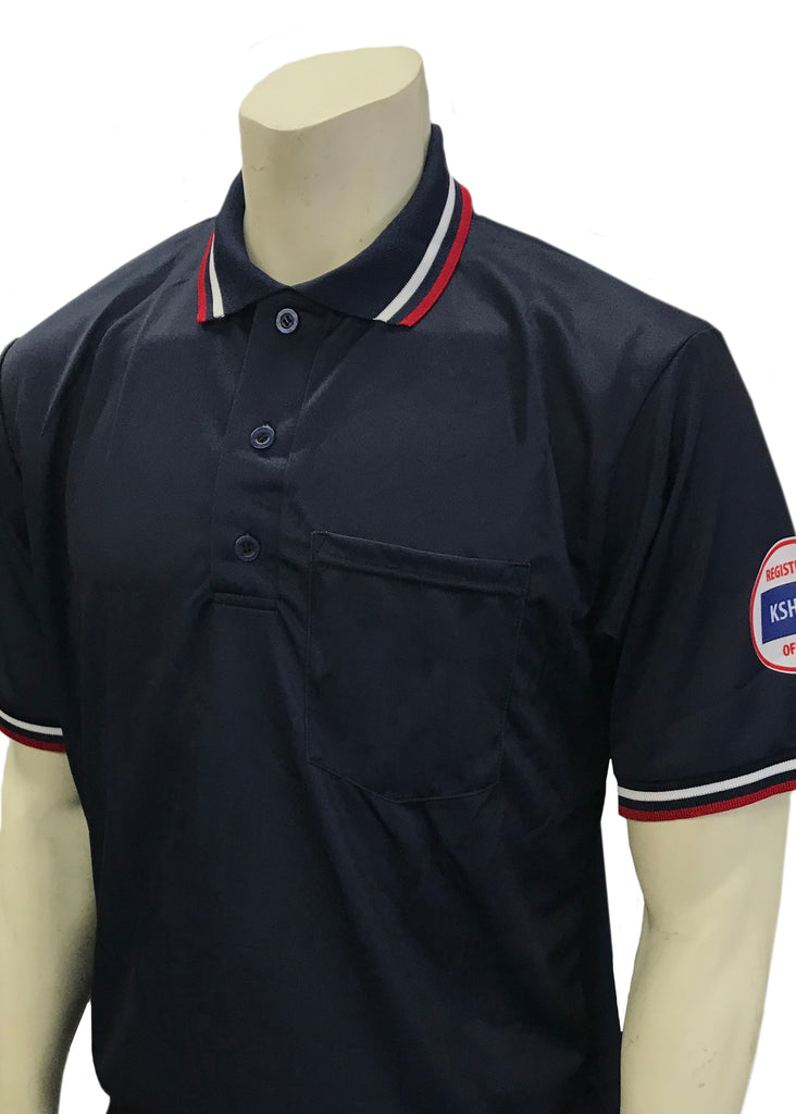 USA300 Kansas Short Sleeve Ump Shirt Navy