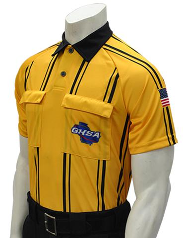 GHSA 900 Short Sleeve Soccer Shirt Gold
